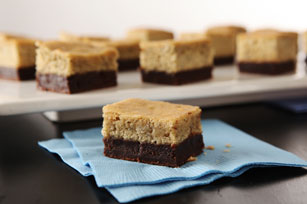 Banana Brownie-Bottom Cake