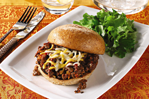 Keema de boeuf Sloppy Joe Image 1