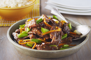 Beef with Orange Peel