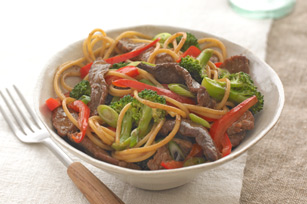 Beef & Vegetable Noodle Bowl