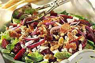 Beet, Blue Cheese & Bacon Salad