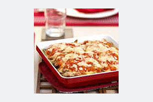 Berenjena a la parmesana con salsa de tomate fresco