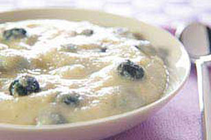 Berries and Cream Hot Cereal Image 1