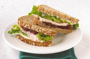 """Berry Good"" Turkey Sandwich"