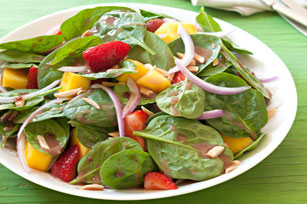 Berry, Mango & Spinach Salad