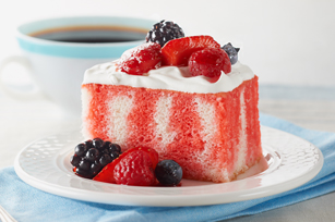 Berry Summer Poke Cake