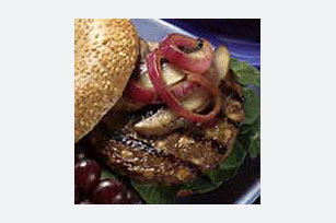 Bistro Bagel Cheeseburger Image 1