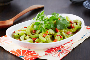 Salade de melon amer et de baies de goji Image 1