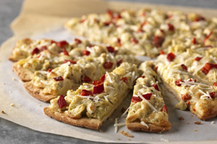 Black Pepper and Artichoke Pizza Image 1