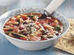 Black Bean Minestrone Soup