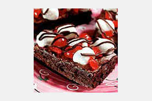 Black Forest Brownies Image 1