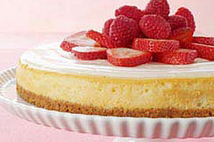Blossoming Berry Cheesecake Image 1