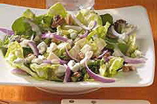 Blue Cheese-Walnut Salad