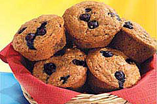 Blueberry-Graham Muffins Image 1