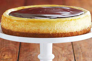 Boston Cream Cheesecake Image 1