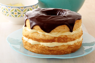 Boston Cream Pie Made Over