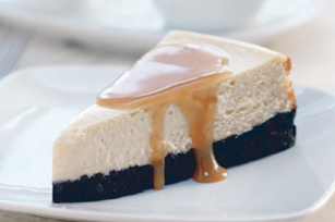 Brown Sugar Cheesecake with Bourbon Sauce Image 1