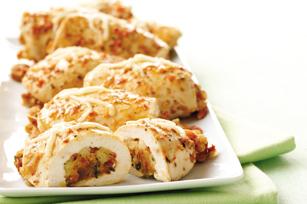 Bruschetta 'n Cheese Stuffed-Chicken Breasts