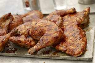 Quick BBQ-Beer Chicken