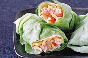 Caesar Lettuce Wrap