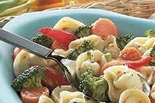 Vegetable Tortellini Salad