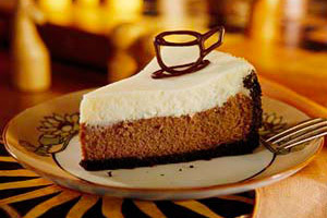 Cafe Au Lait Cheesecake Image 1