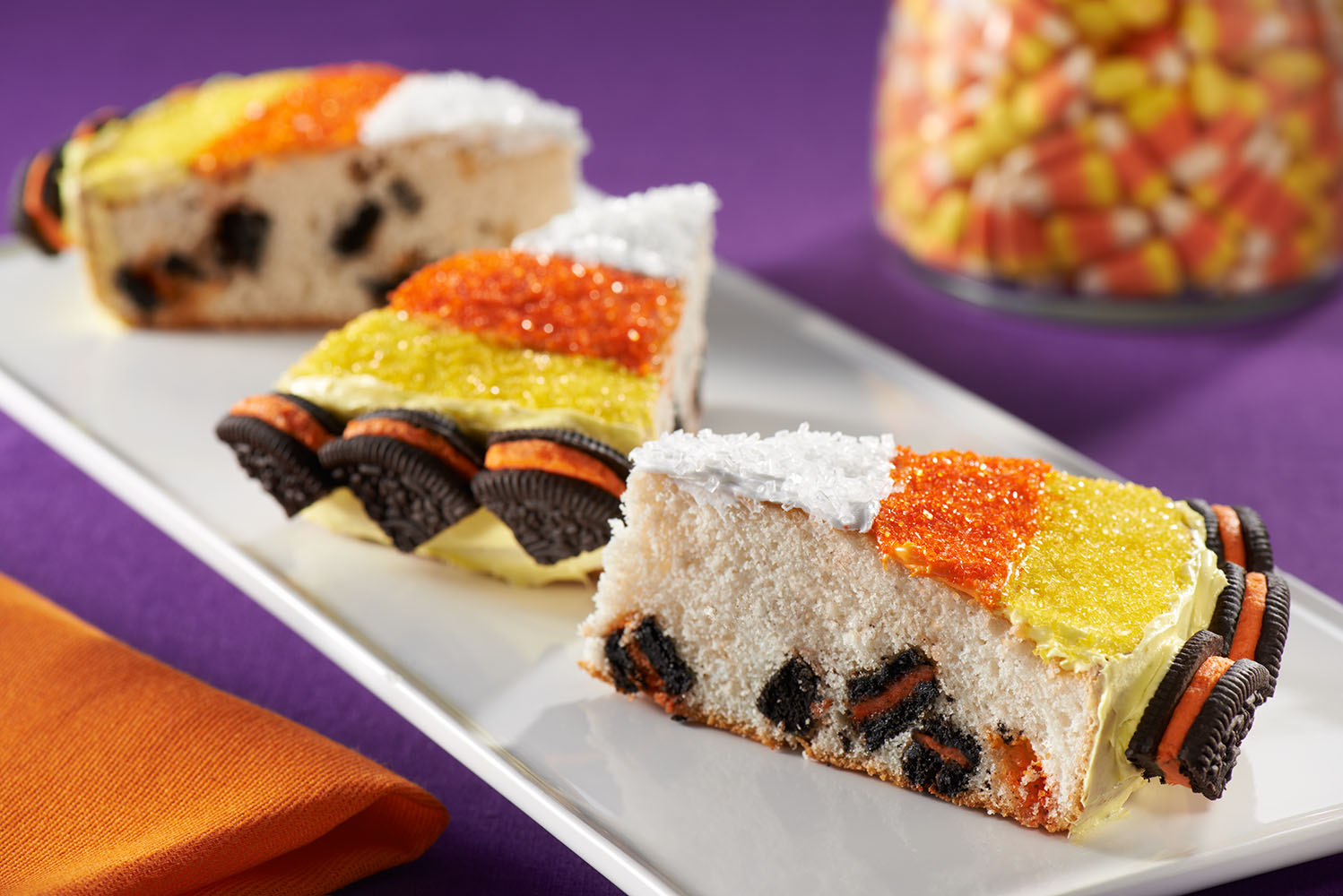 Candy Corn Cakes Image 1