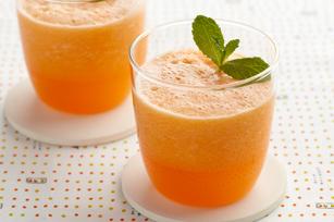 Cantaloupe-Tangerine Aqua Fresca