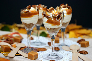 Caramel Pecan Cheesecake Trifle
