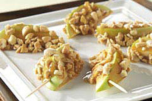 Caramel Peanut Fruit Wedges Image 1