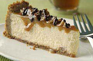 Caramel-Topped Pecan Cheese Pie Image 1