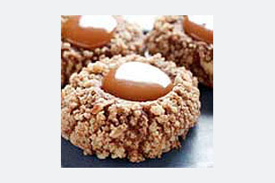 Chocolate-Caramel Thumbprints Image 1
