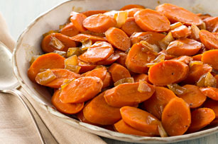 Brown Sugar-Glazed Carrots and Onions Image 1