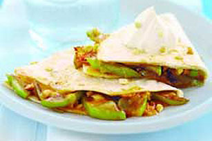 Caramelized Apple Cheddar Quesadillas Image 1
