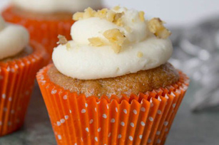 Carrot Cupcakes with Cream Cheese Frosting Image 1