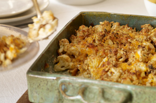 Cauliflower-Cheddar Bake