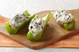 Celery Sticks with Mediterranean Dip