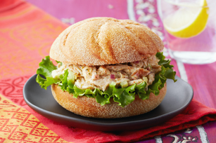 Chatpata Chicken Salad Sandwiches