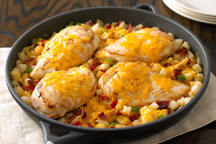 Cheddar Chicken and Potatoes Image 1