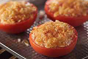 Cheddar Broiled Tomatoes Image 1