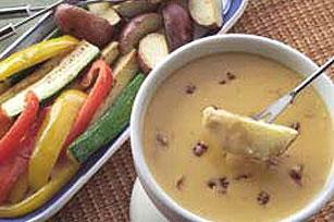 Cheddar Chipotle Fondue