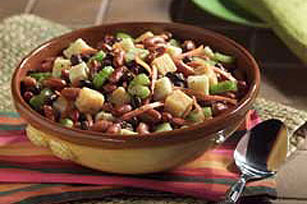 Cheese and Bean Salad Image 1