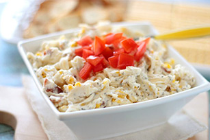 Cheesy Bacon Corn Dip Image 1