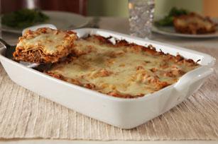 Cheesy Beef & Eggplant Lasagna