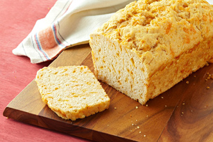 Cheesy Beer Batter Bread