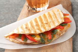 Cheesy Chipotle-Chicken Panini Image 1