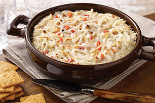 Cheesy Hot Crab and Red Pepper Spread