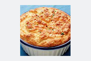 Cheesy-Vegetable Spoon Bread Image 1