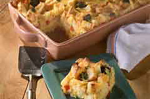 Cheesy Broccoli Egg Bake for a Brunch Crowd Image 1