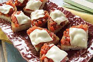 Cheesy Bruschetta